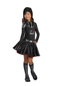 Little Girl in Darth Vader Dress
