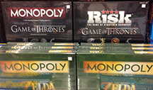 monopoly risk and other board games