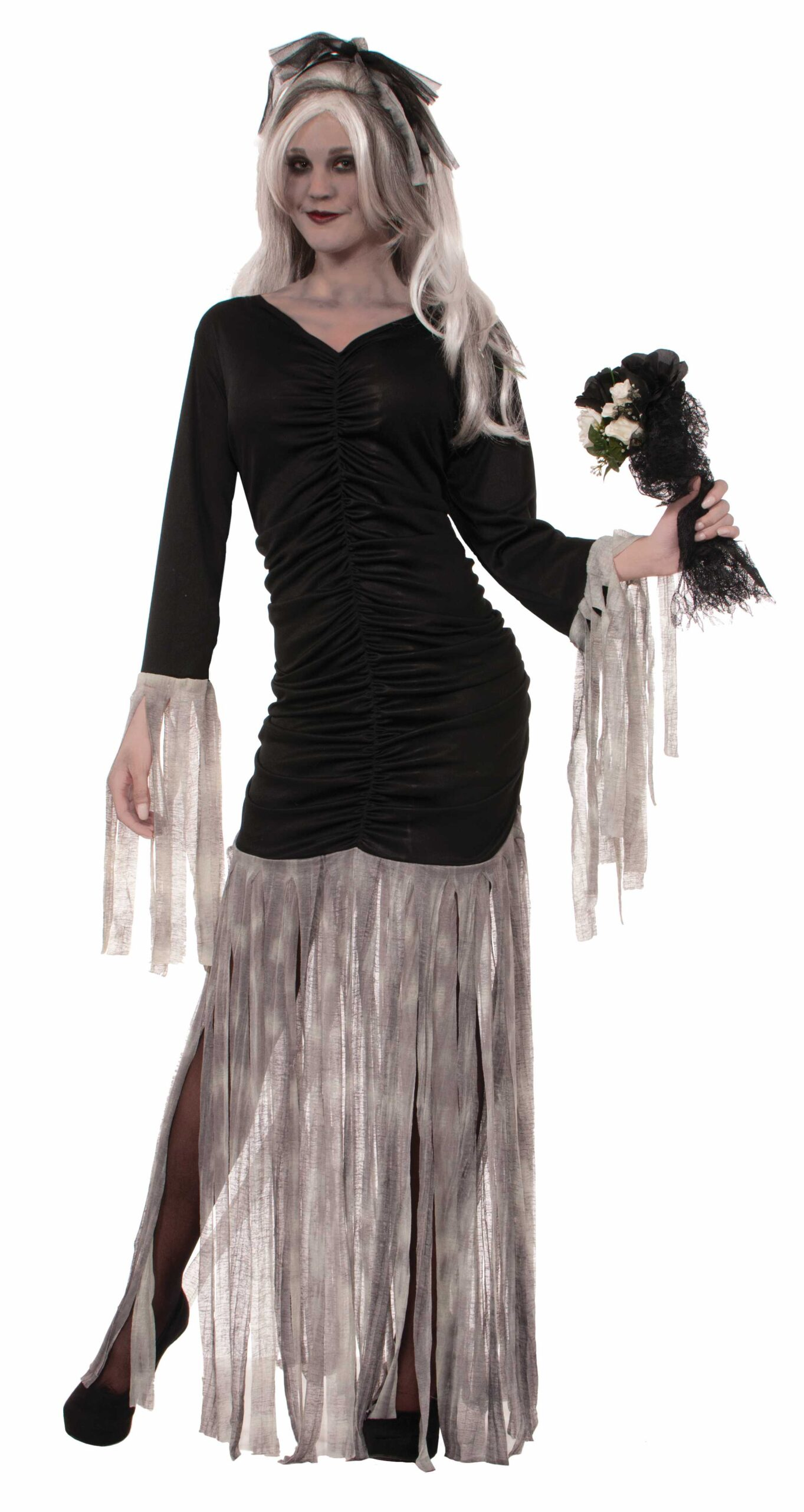 adult female corpse bride costume