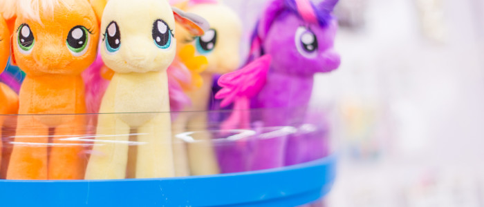 stuffed my little ponies