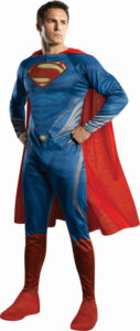 Adult male in superman costume